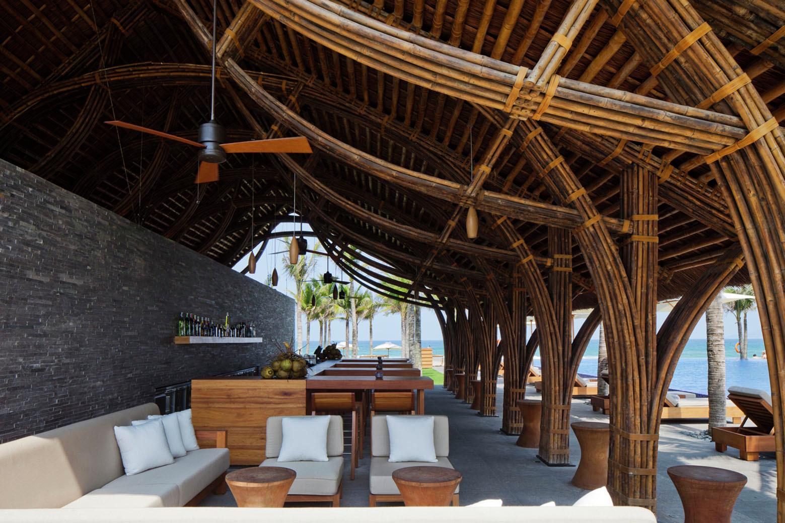 Bamboo Beach Bar Design