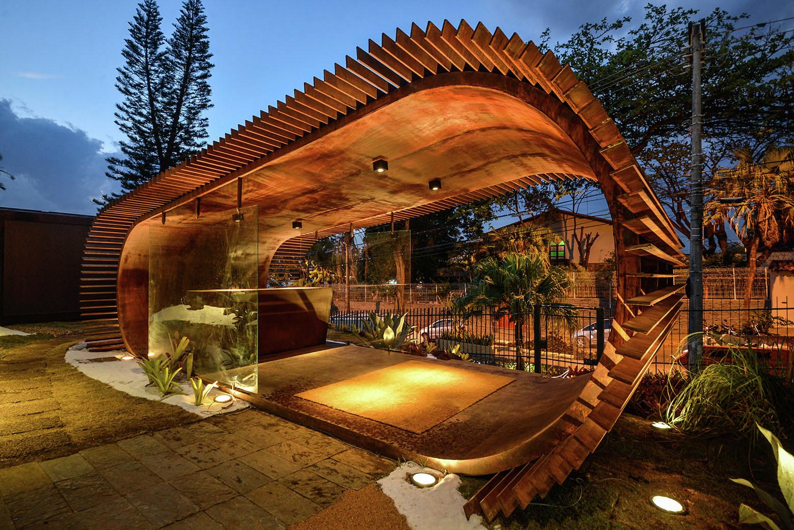 Pamp Pavilion  Joo Diniz Arquitetura  ArchDaily
