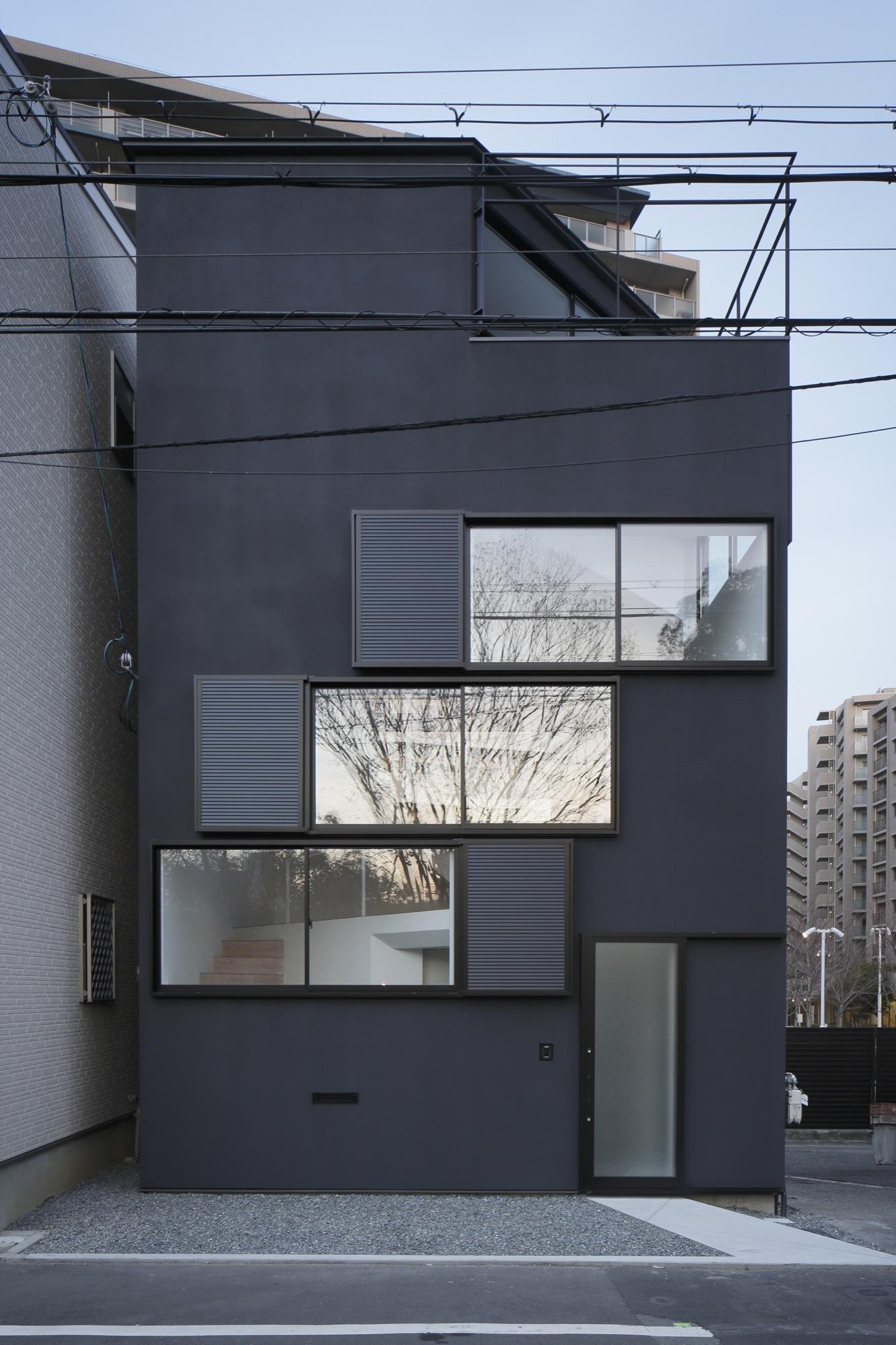 Long Horizontal Windows Houses