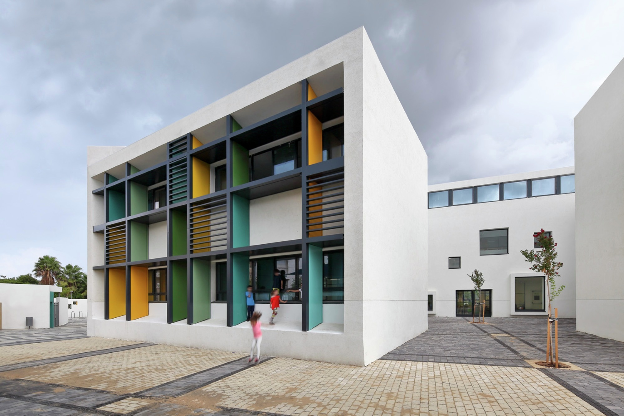 Elementary School in Tel Aviv Auerbach Halevy Architects