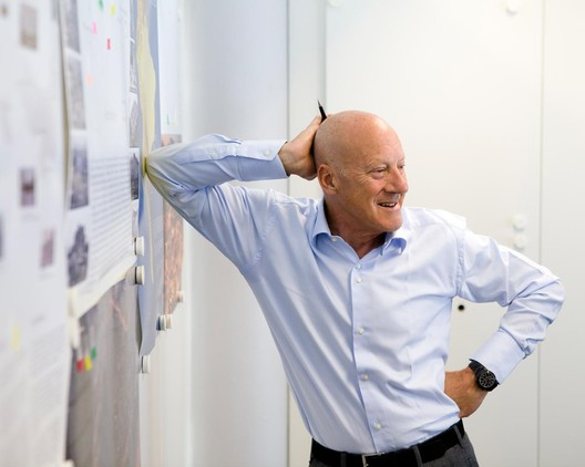 Lord Foster. Image Courtesy of Foster + Partners