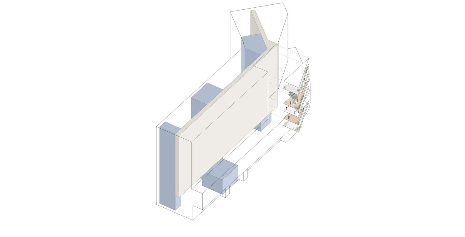 housing l diagrama espacio p blico [ 1582 x 807 Pixel ]