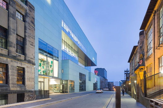 Public Building of the Year: Seona Reid Building—Glasgow School of Art / Steven Holl Architects with JM Architects. Image © Iwan Baan