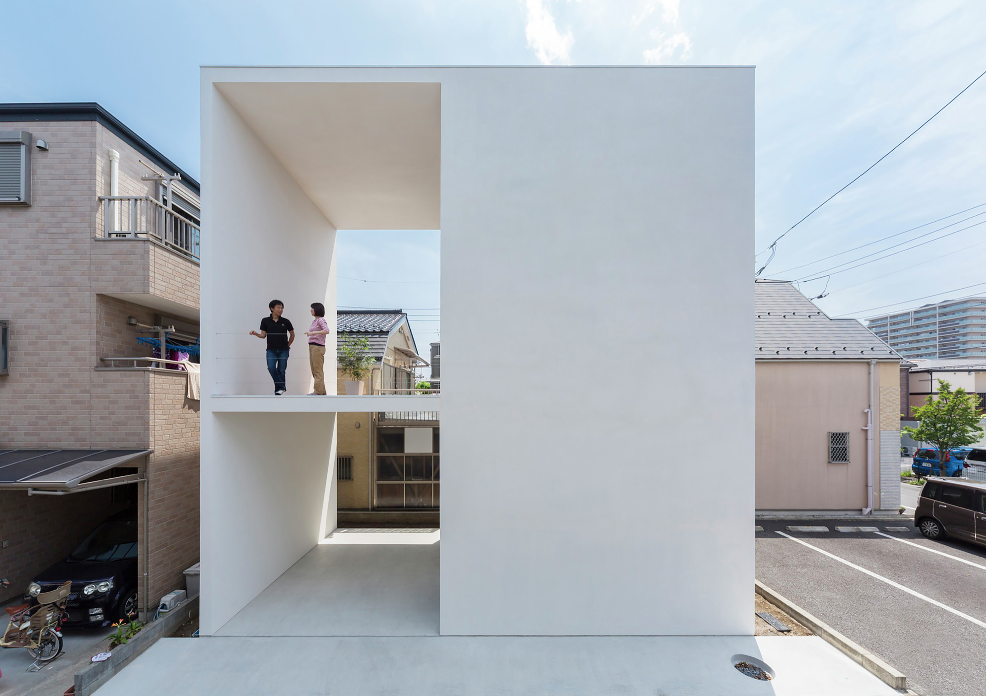 Little House With Big Terrace Takuro Yamamoto Archdaily
