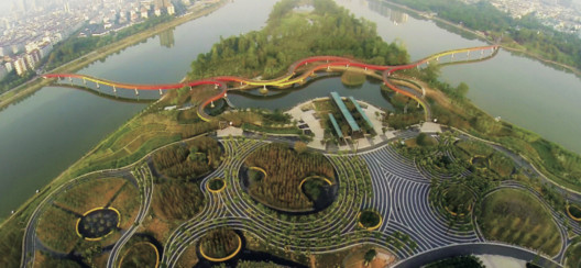 Landscape of the Year Winner: Yanweizhou Park (China) / Turenscape International. Image Courtesy of WAF