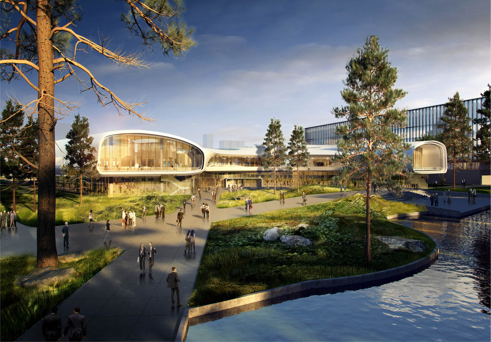 Ennead Architects Design Huawei Research Center in Wuhan