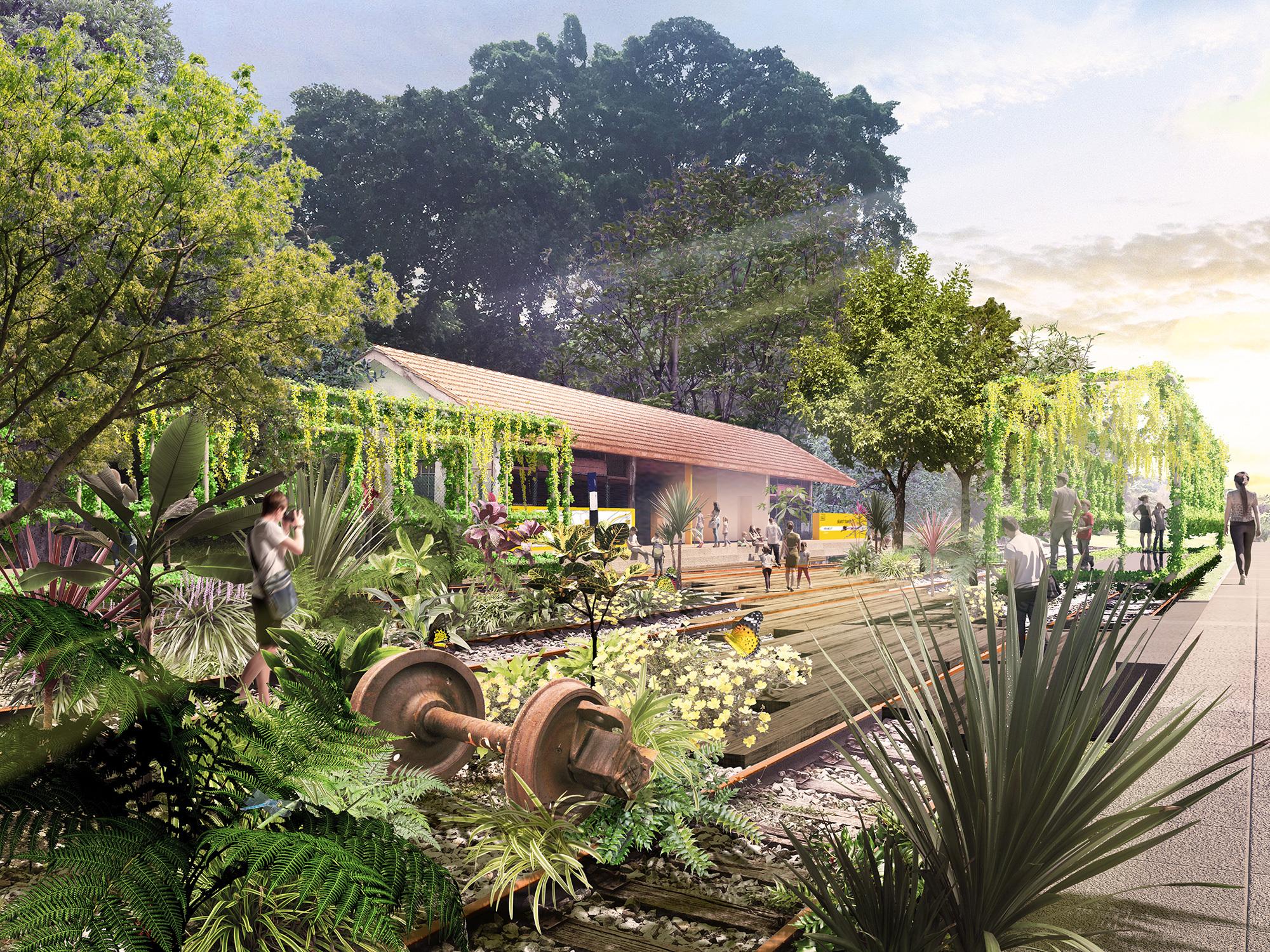Nikken Sekkei Design Master Plan Revitalize