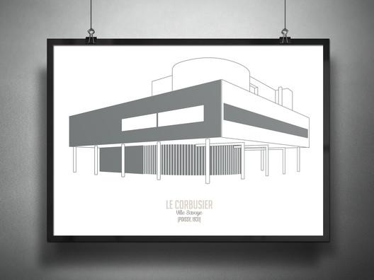 Villa Savoye / Le Corbusier, 1931. Image © Francesco Ravasio
