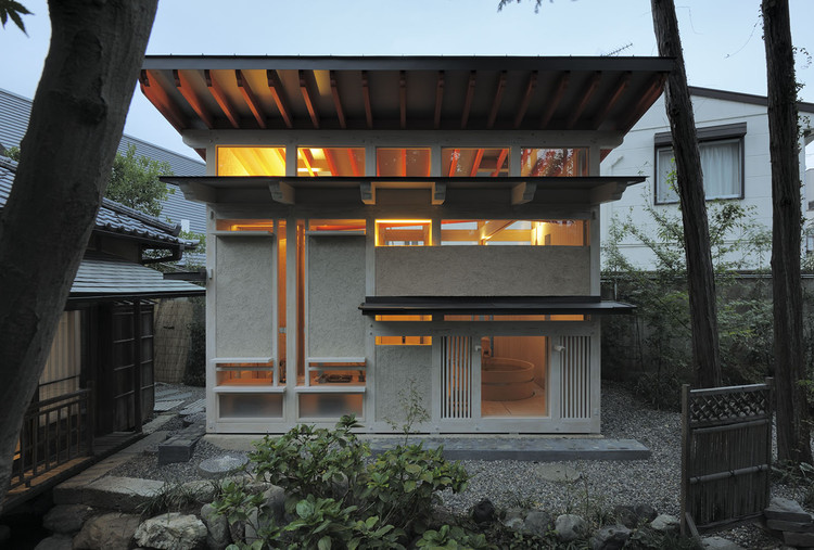 Bathhouse Of Fireflies TAKASAKI Architects ArchDaily