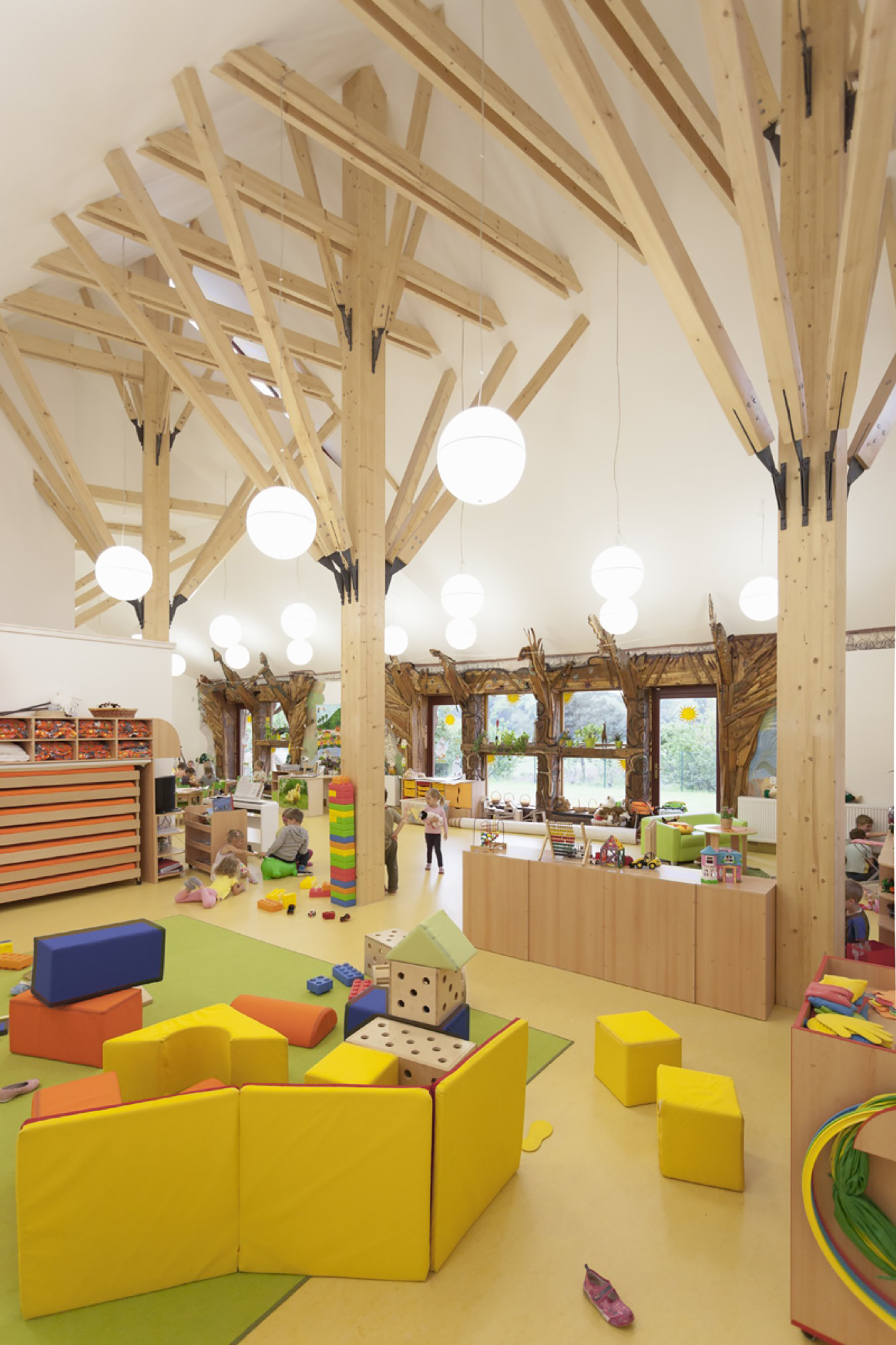 Kindergarten Interior Design School