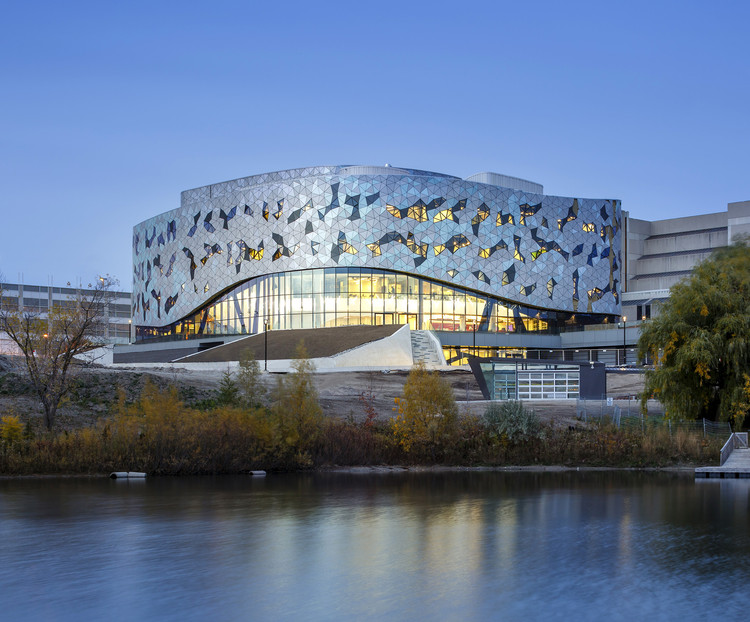 The Bergeron Centre For Engineering Excellence / ZAS Architects, © Doublespace Photography