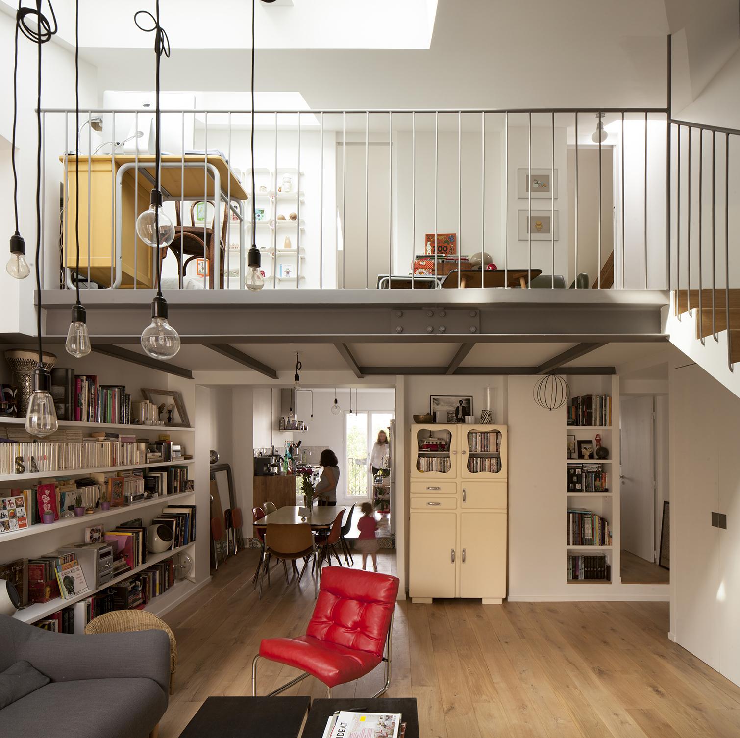 Gallery Of Duplex In Saint Mande Cairos Architecture Et