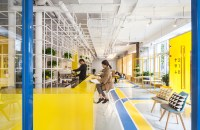 Yuanyang Express We+ Co-working Space / MAT Office | ArchDaily