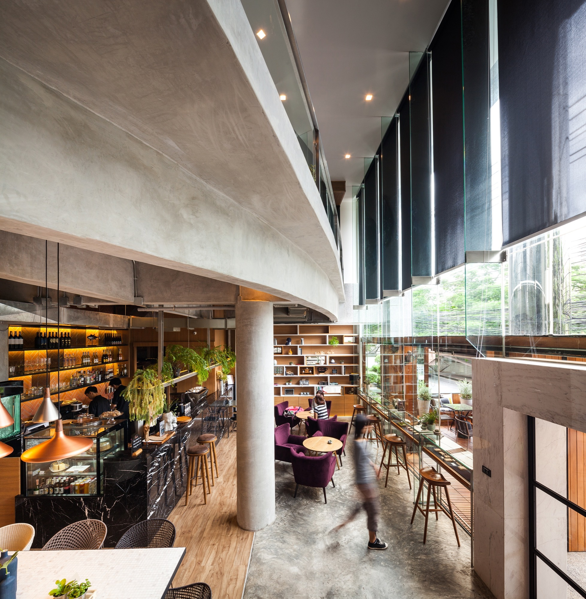 Storyline Cafe Junsekino Architect And Design Archdaily