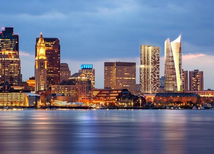 Skyline. Image Courtesy of Pelli Clarke Pelli/CBT Architects