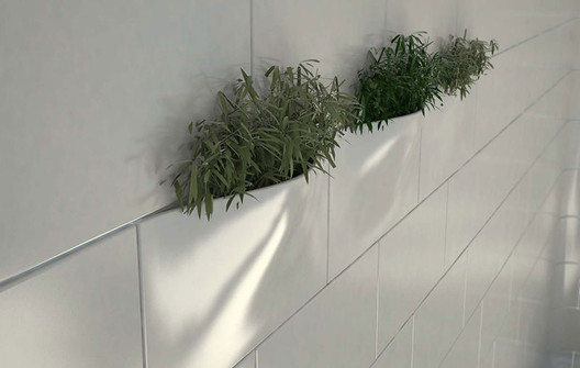 Green Wall. Image © BIG Ideas