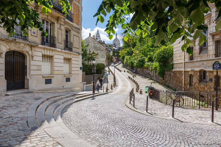 Praça Dalida, Paris. Imagem © Loïc Lagarde, via Flickr