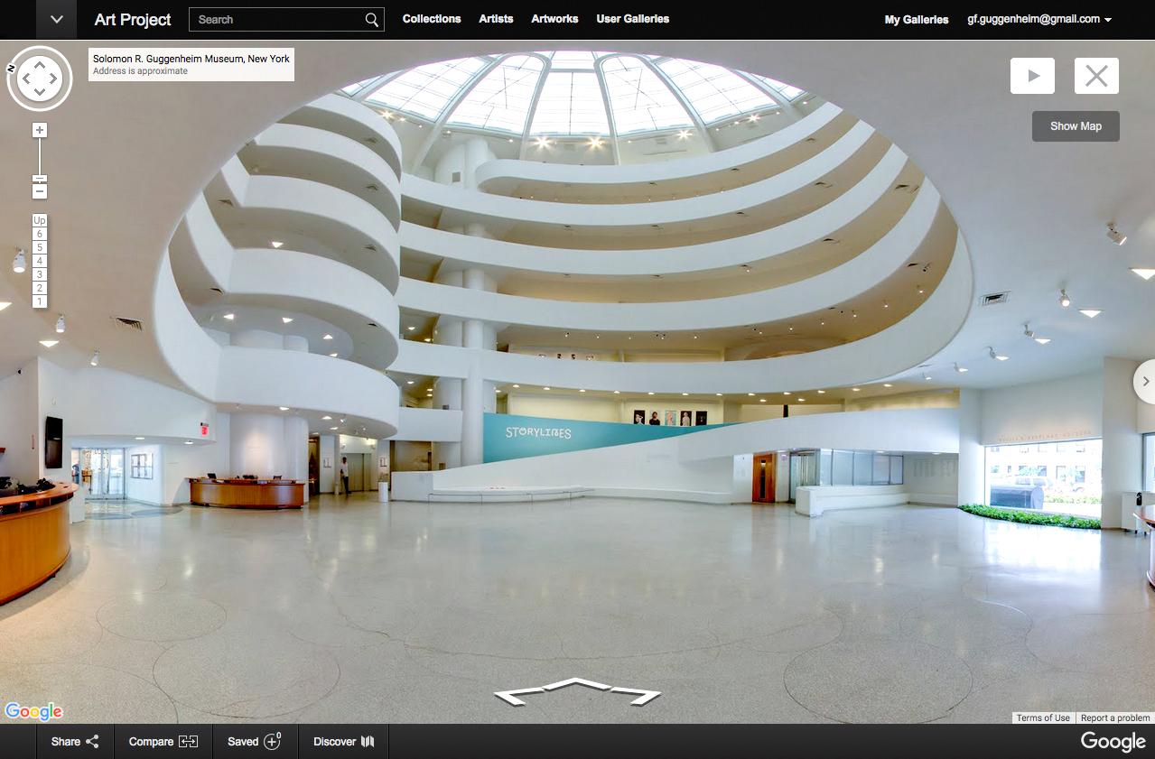 New York Guggenheim Art Museum
