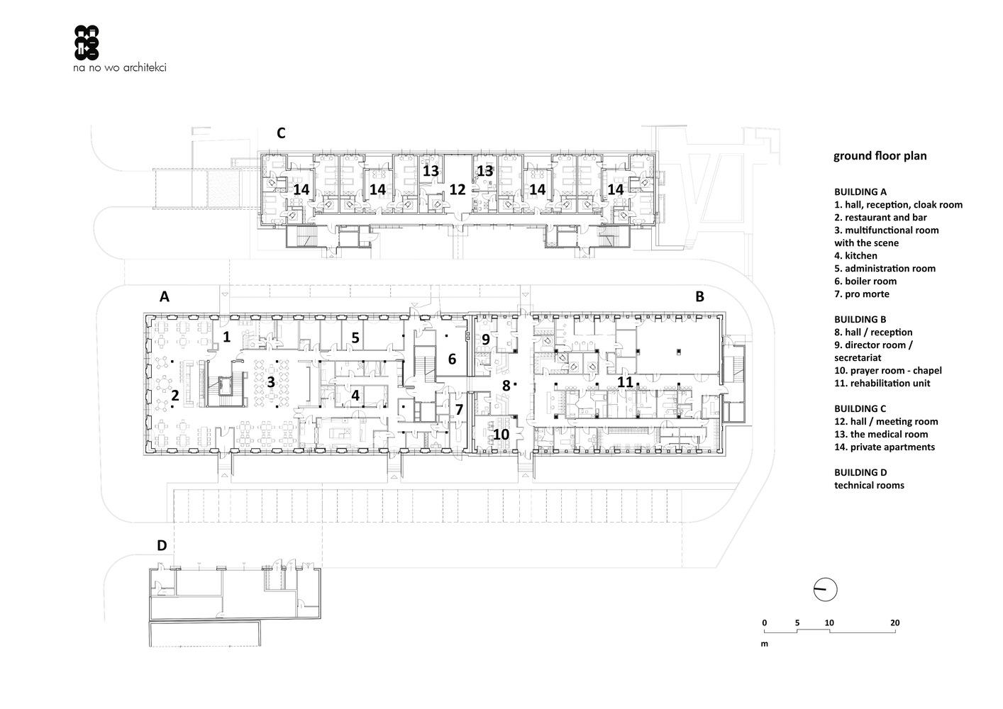 leszczynski antoniny manor intervention na no wo architekci [ 1414 x 1000 Pixel ]