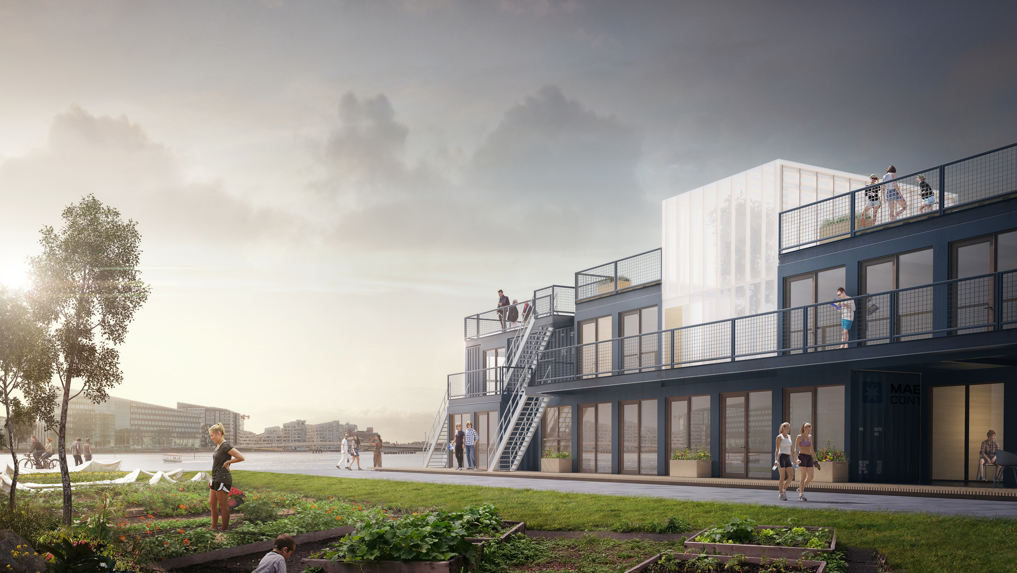 How a Transportable Student Village Could Alleviate