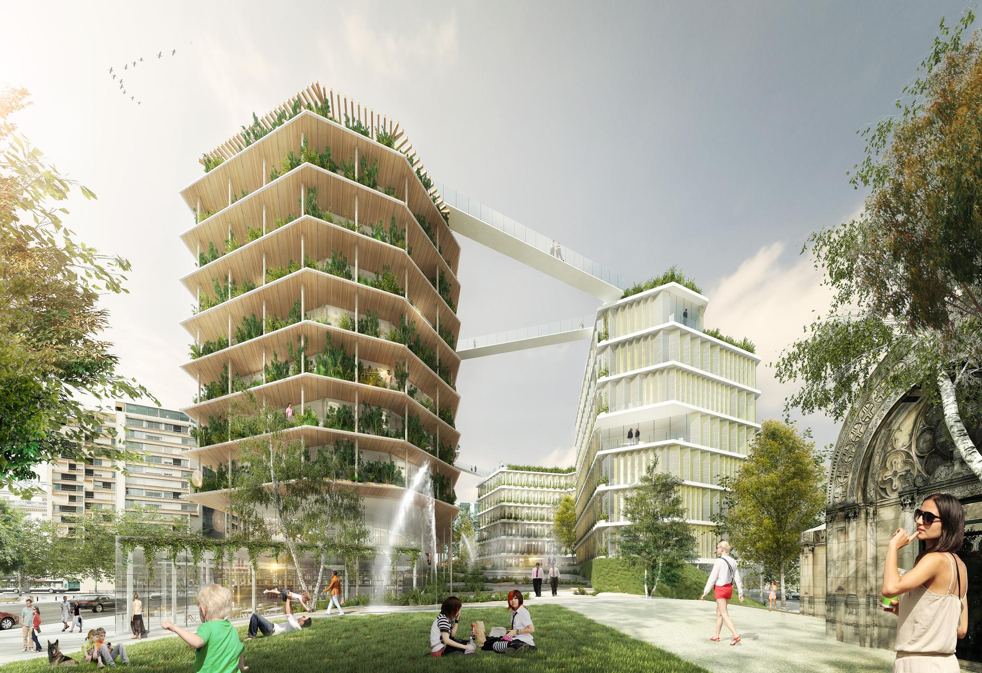 Jacques Ferrier Architecture Chartier Dalix And Sla