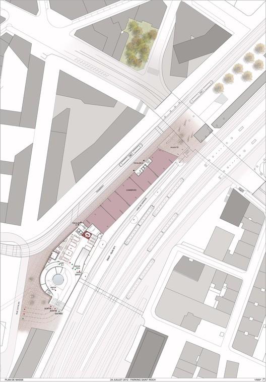 Parking Gare Saint Roch Montpellier : parking, saint, montpellier, Parking, Saint-Roch, Archikubik, ArchDaily
