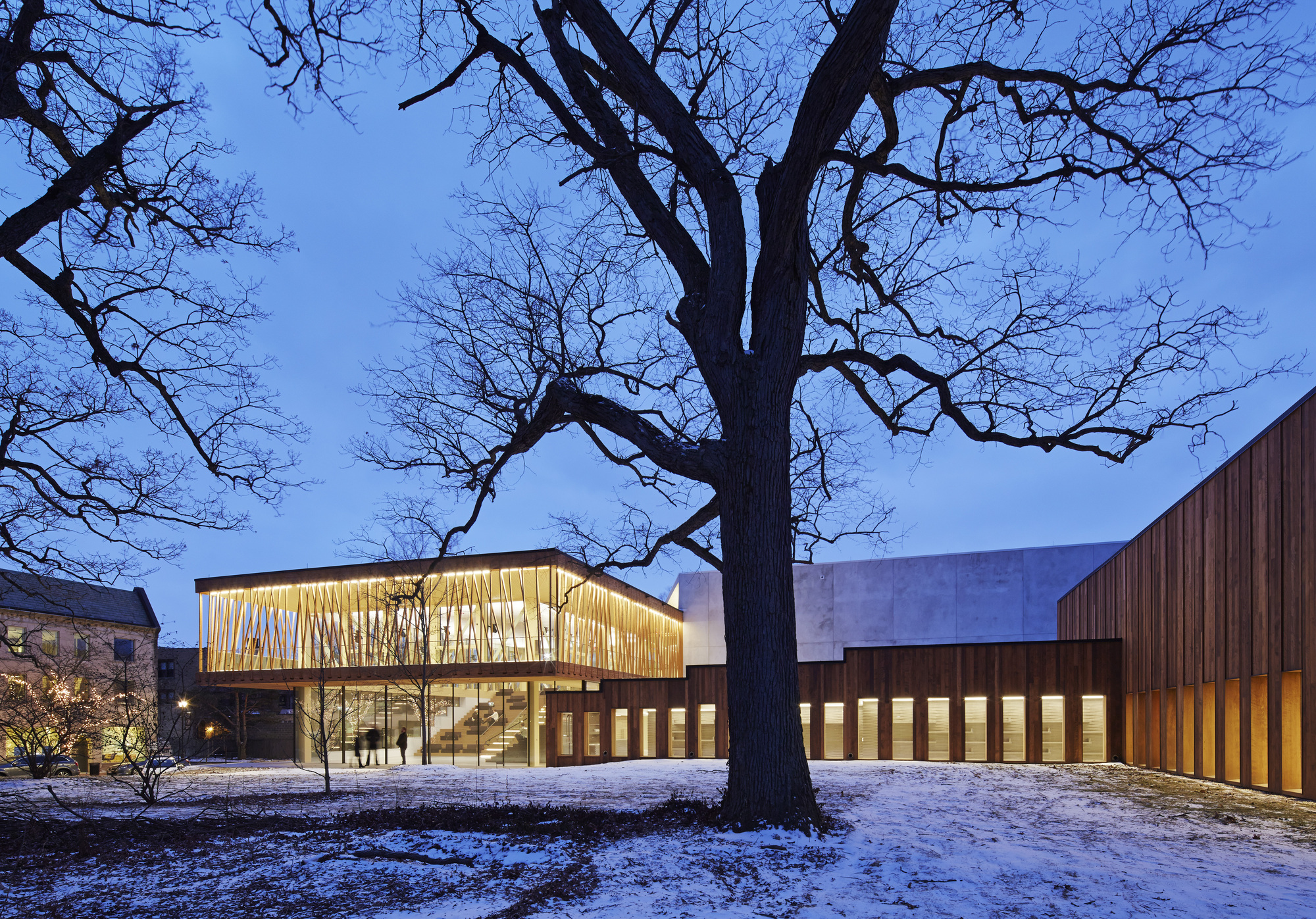 Writers Theatre  Studio Gang Architects  ArchDaily