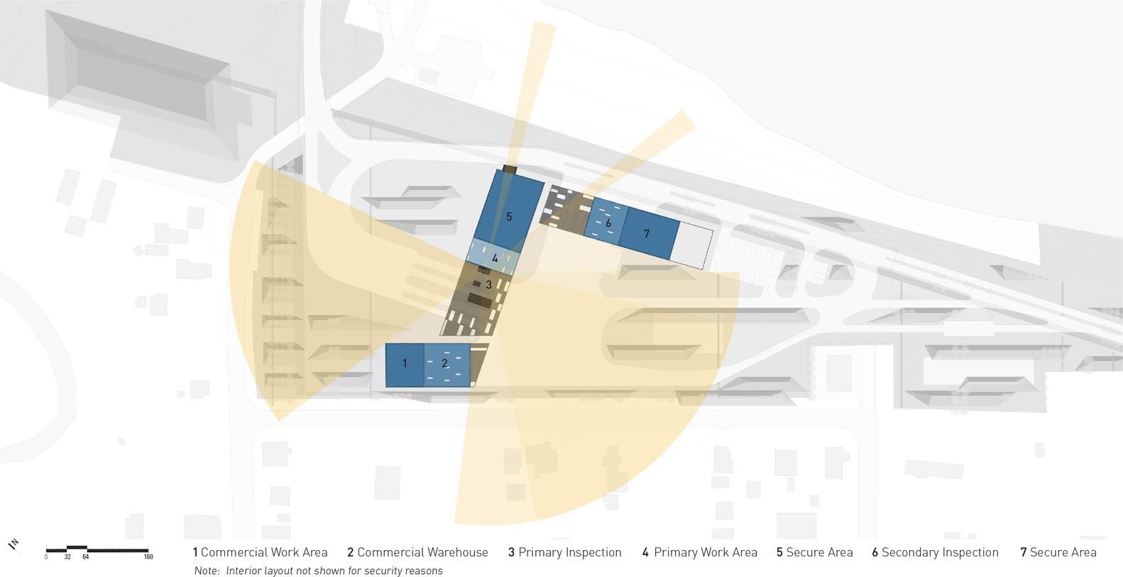 us land port of entry diagram [ 1582 x 814 Pixel ]