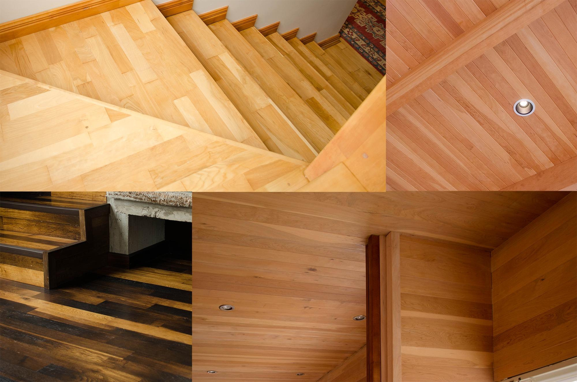 Materiales pisos y revestimientos en madera de Lenga de