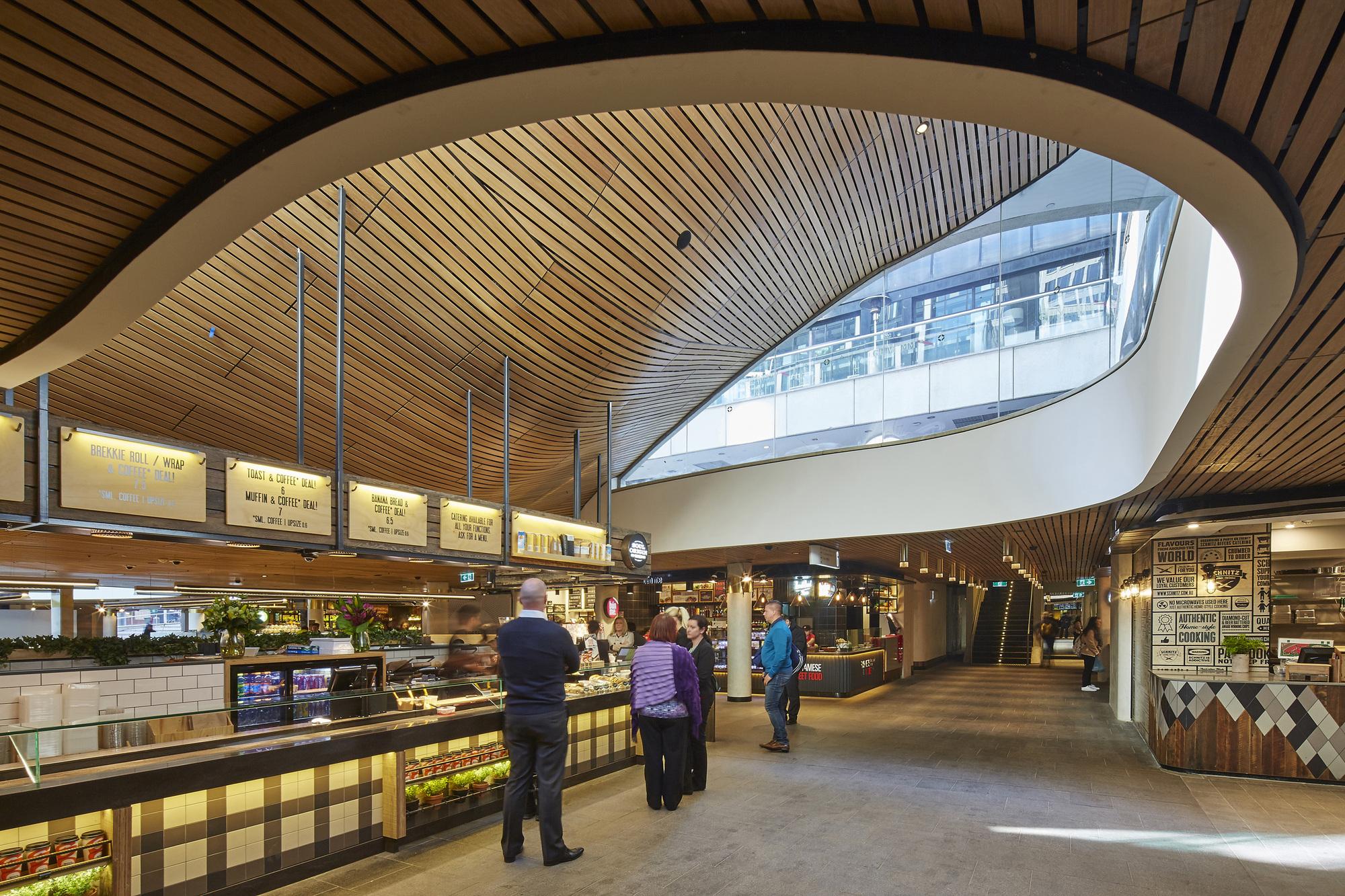 MLC Centre Food Court  Luchetti Krelle  ArchDaily