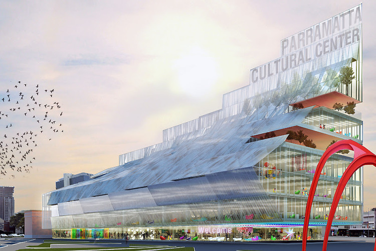 Manuelle Gautrand, DesignInc, and Lacoste + Stevenson Win Competition for 5 Parramatta Square, Courtesy of Manuelle Gautrand Architecture