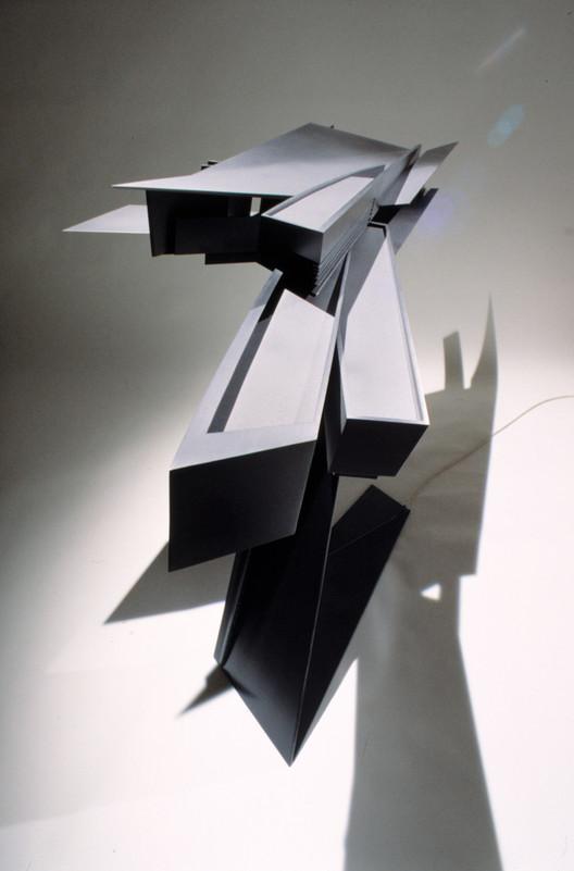 Model. Image Courtesy of Zaha Hadid Architects