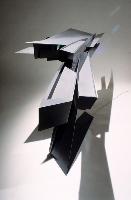 Model. Image Courtesy of Zaha Hadid Architects