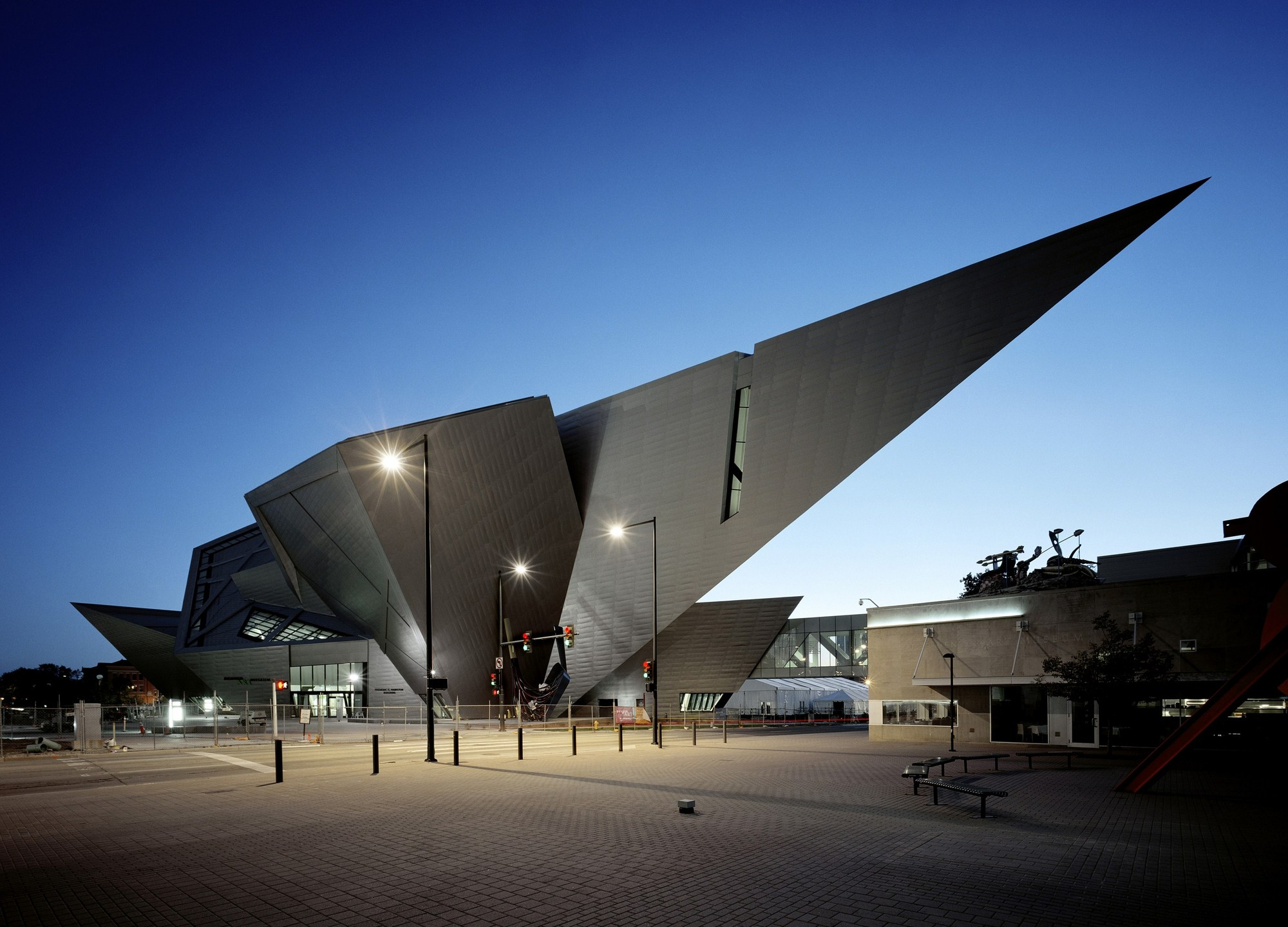 Denver Art Museum Studio Libeskind Archdaily