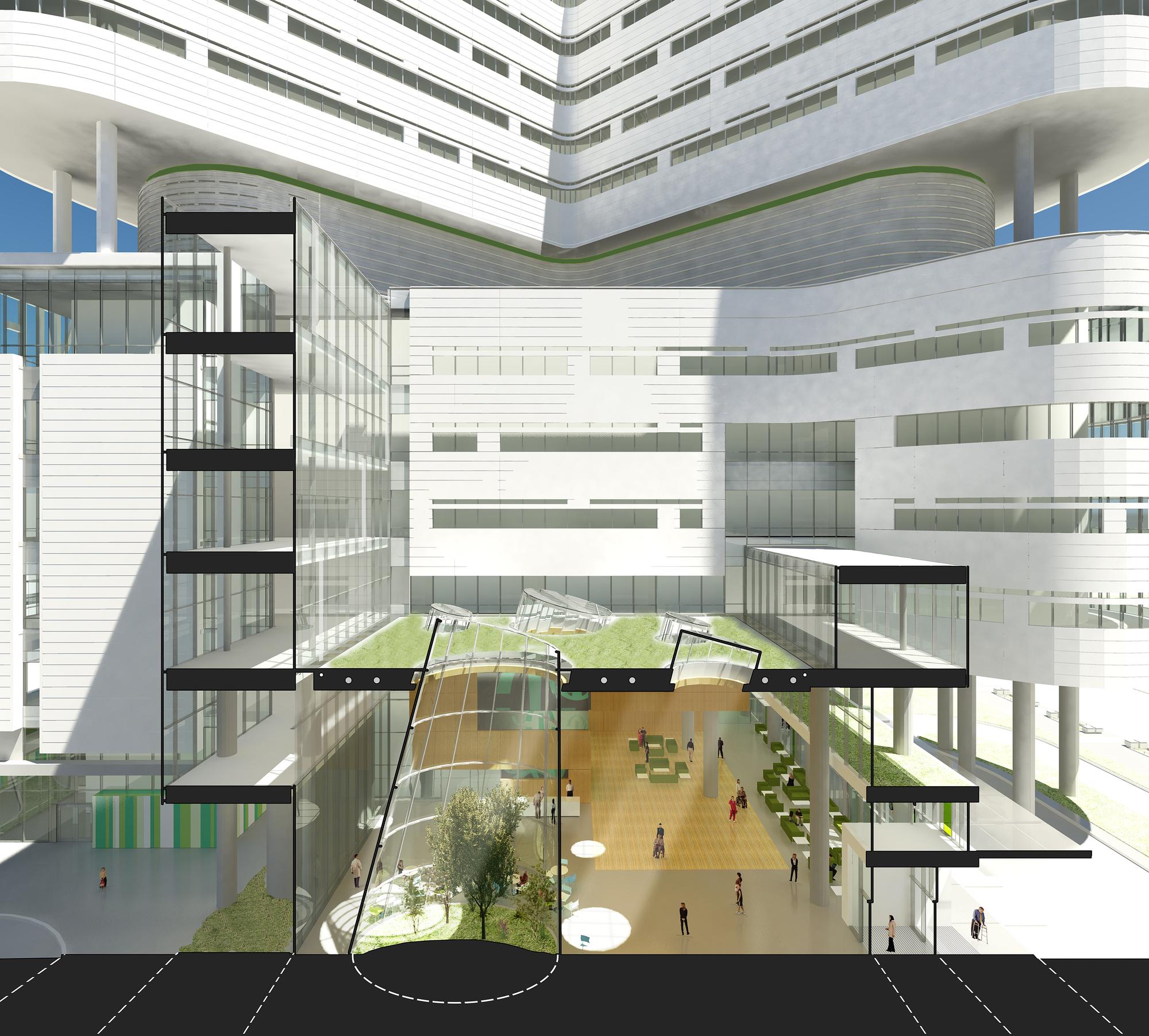 Galer De Nueva Torre Hospital Del Centro Dico La
