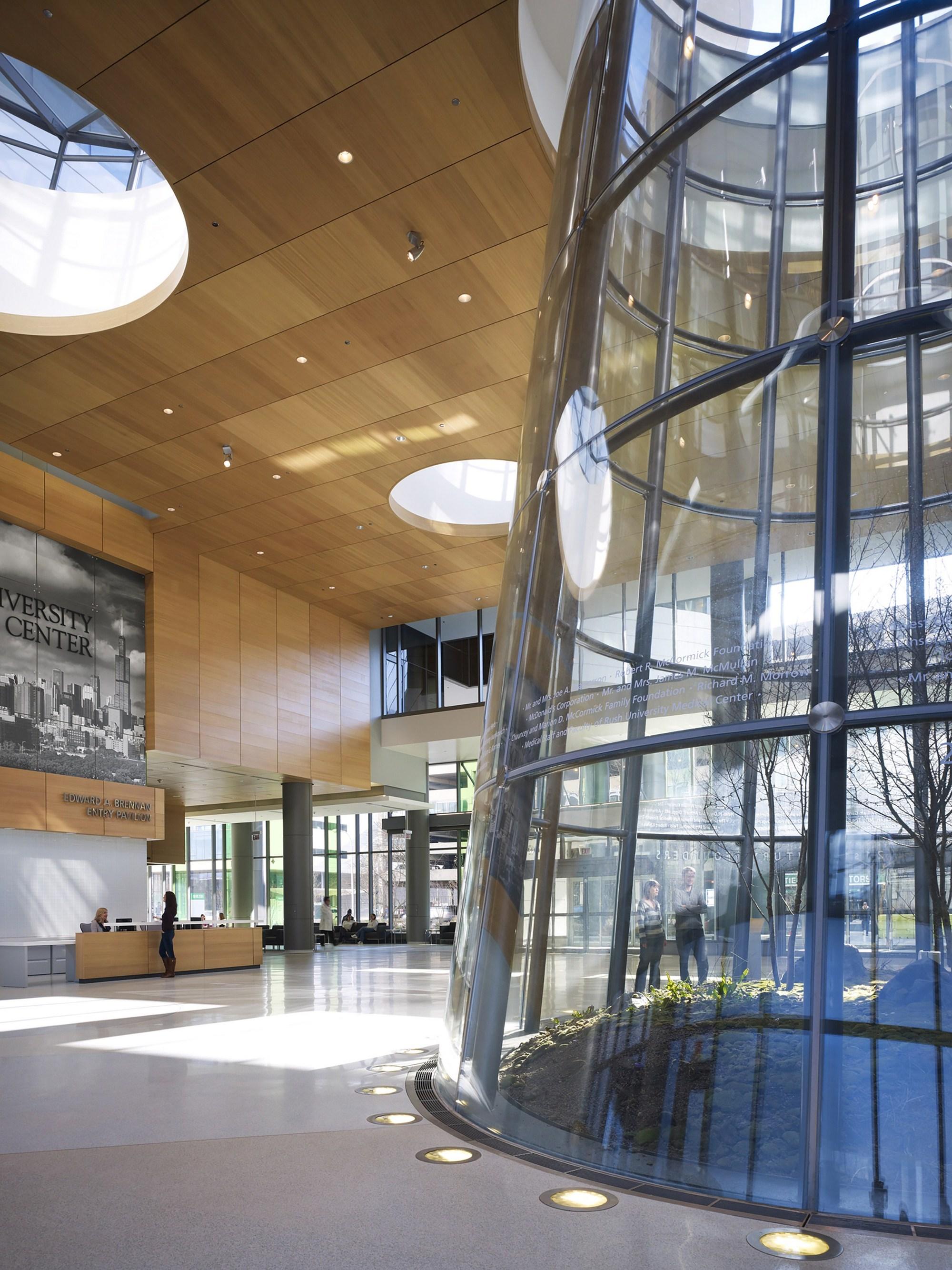 Rush University Medical Center New Hospital Tower Perkins Will
