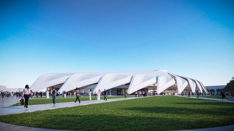 Santiago Calatrava's Winning Design for the UAE Pavilion at the Dubai World Expo, Courtesy of Santiago Calatrava