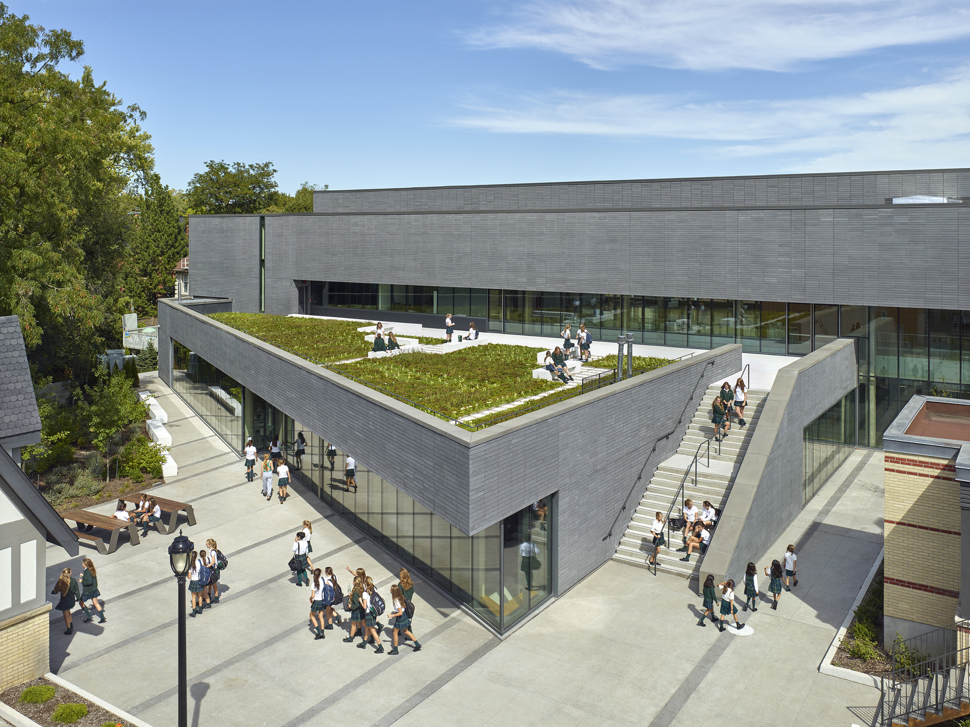 Branksome Hall Athletics  Wellness Centre  MacLennan Jaunkalns Miller Architects  ArchDaily