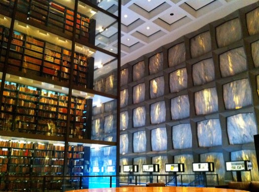 Beinecke Rare Book Library. Image © <a href='https://www.flickr.com/photos/joevare/5524134719'>Flickr user joevare</a> licensed under <a href='https://creativecommons.org/licenses/by-nd/2.0/'>CC BY-ND 2.0</a>