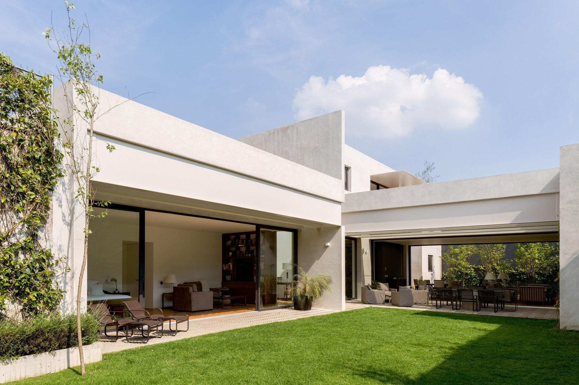 Casa Jardín  Dcpp Arquitectos  Archdaily México