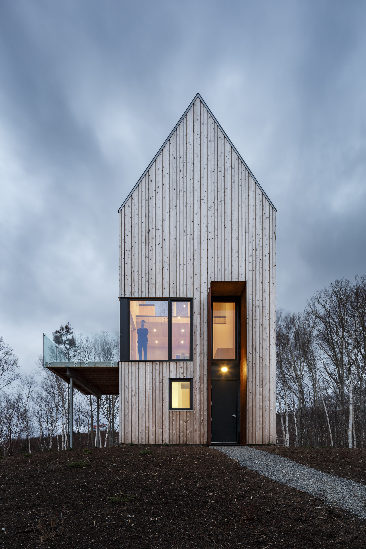Wood Cabin House Modern Design Homes