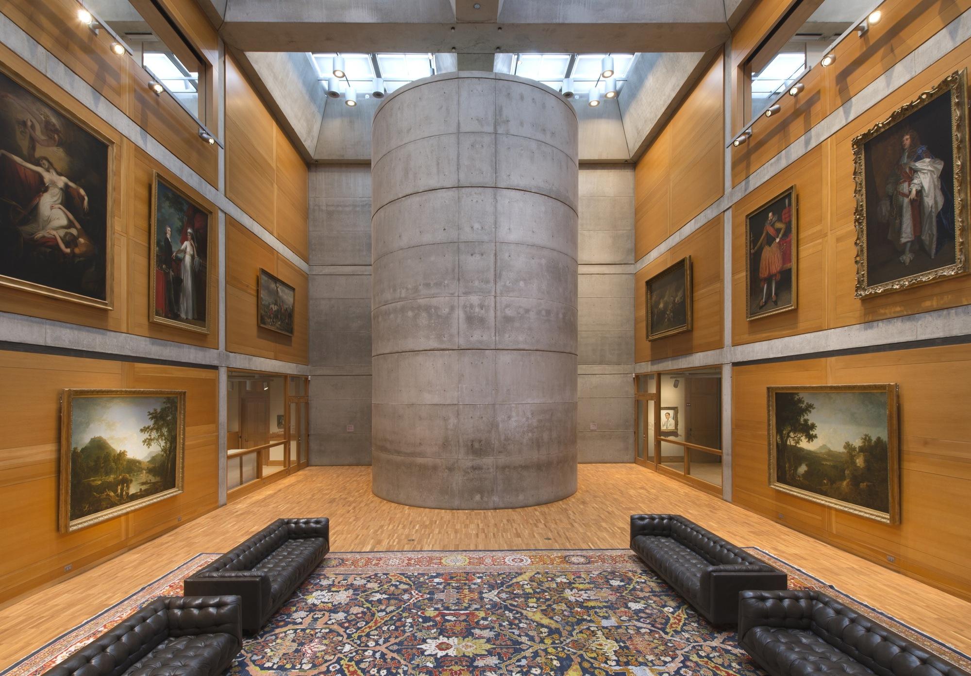 Louis Kahn' Yale Center British Art Reopens