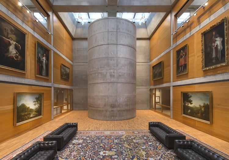 Louis Kahn's Yale Center for British Art Reopens After Restoration, Yale Center for British Art, Library Court following reinstallation. Image © Richard Caspole