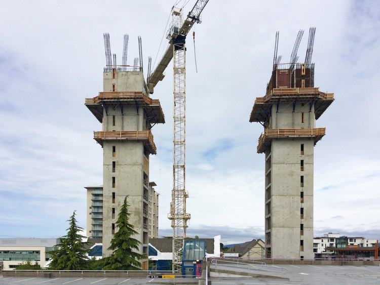 Construction of the World's Tallest Timber Tower is Underway in Vancouver, Courtesy of Acton Ostry Architects Inc. & University of British Columbia
