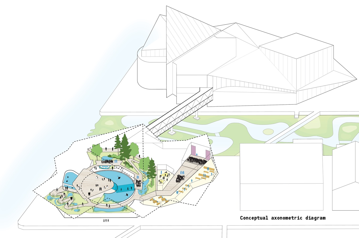 hight resolution of studio gang designs the national aquarium of the future in baltimore