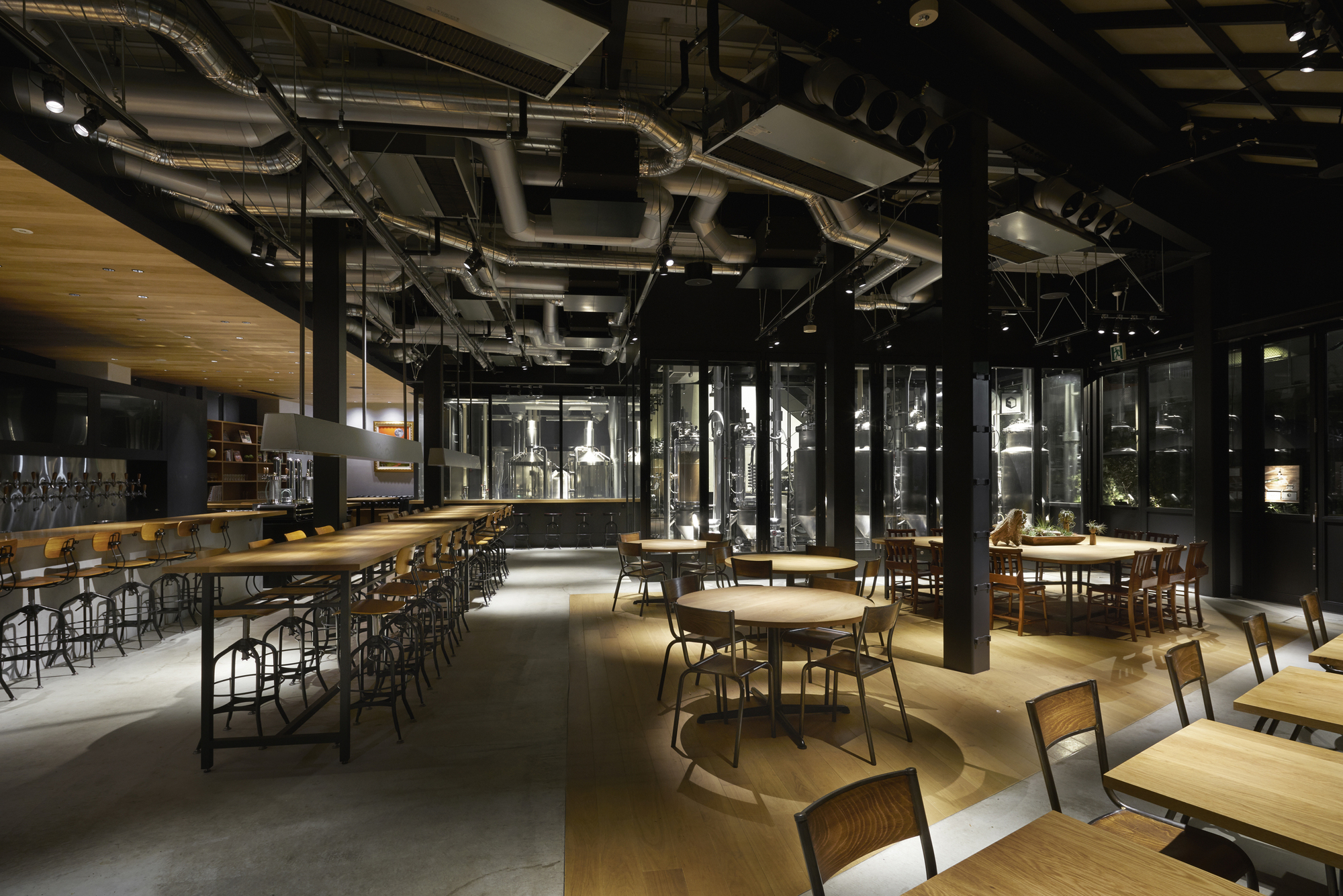 3d Wallpaper Pool Table Spring Valley Brewery Tokyo General Design Archdaily