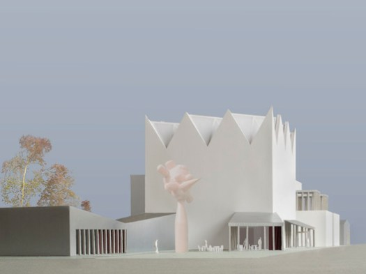 Caruso St John Architects (UK) and Arhitektu birojs Jaunromāns un Ābele. Image © Malcolm Reading Consultants