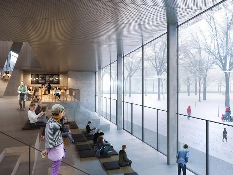 Henning Larsen Architects (Denmark) and MARK arhitekti. Image © Malcolm Reading Consultants