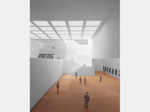 Neutelings Riedijk Architects (Netherlands) and Brigita Bula arhitekte. Image © Malcolm Reading Consultants