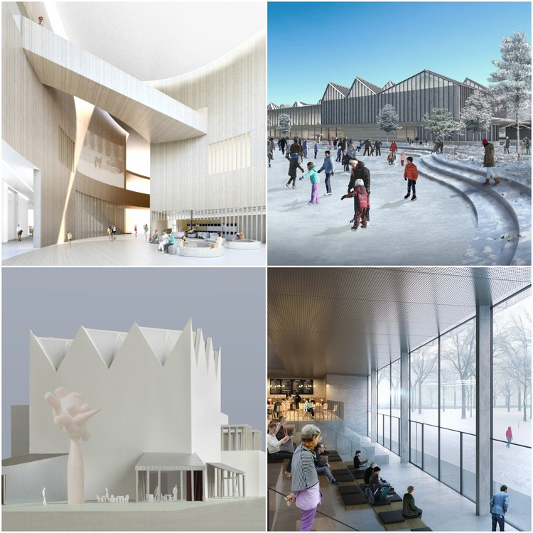 Latvian Museum of Contemporary Art Reveals Shortlisted Designs, © Malcolm Reading Consultants